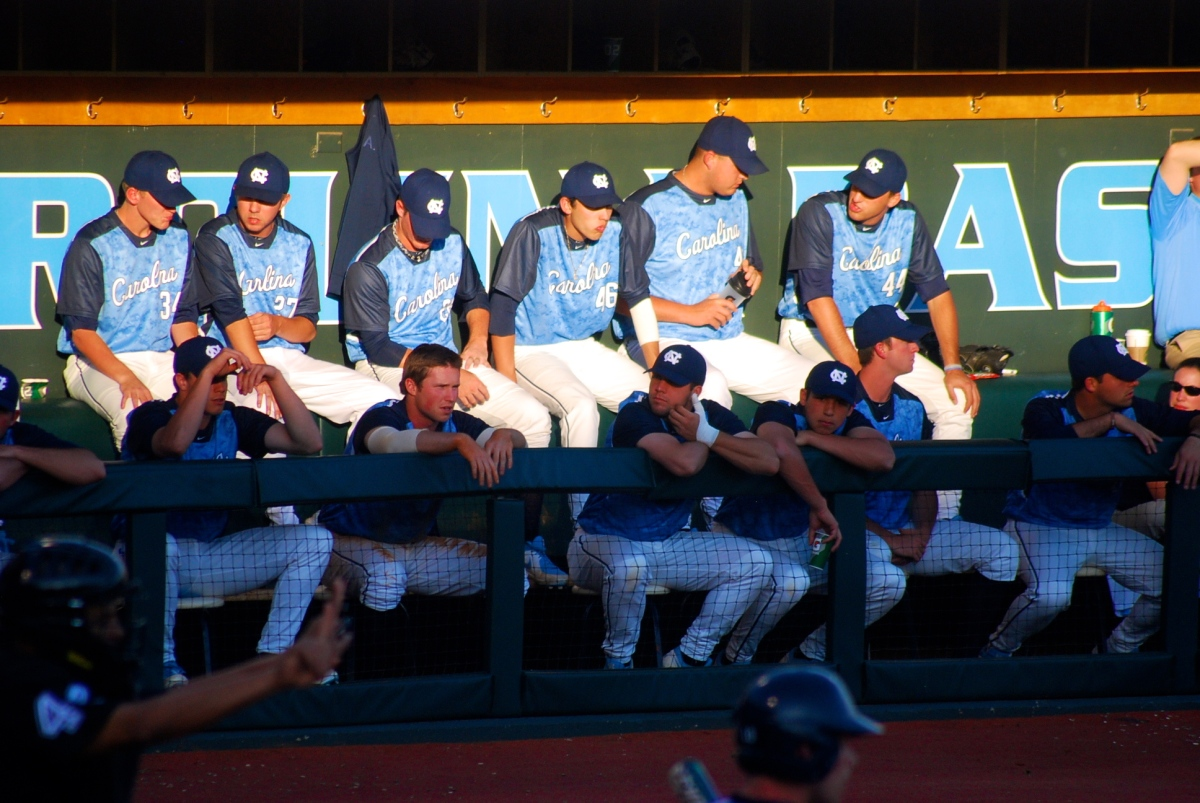 college baseball: duke @ carolina