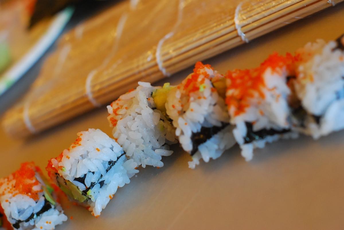 life list: learn to rollsushi