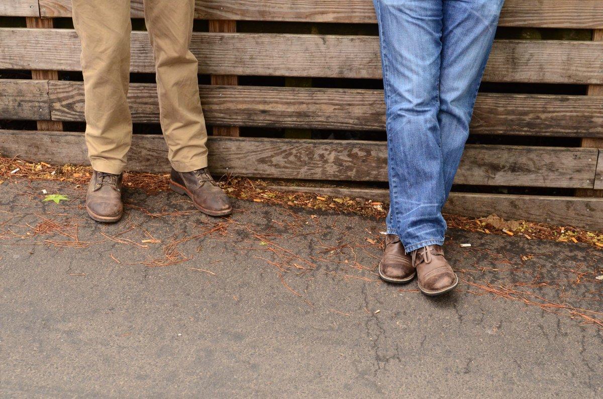 brothers in arms: david & jonathan fallis(rye)