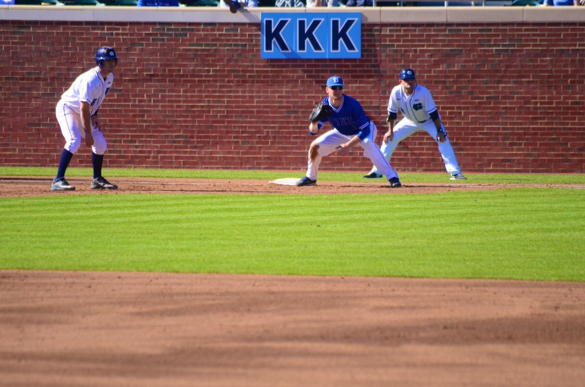 college baseball: duke @ unc, game 2