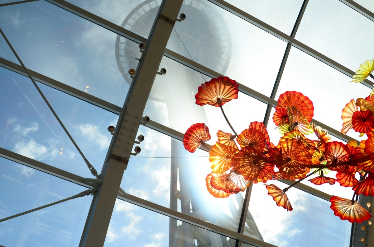 seattle: chihuly glassgarden
